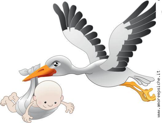 Скачать младенец поставляя Newborn аиста Стоковое фото RF бесплатных.